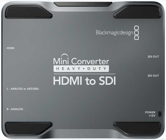 Blackmagic Mini Converter Heavy Duty - HDMI to SDI